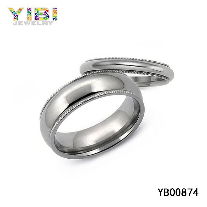 High quality titanium wedding bands