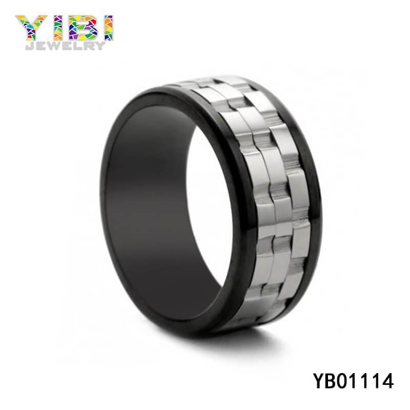 mens stainless steel wedding rings