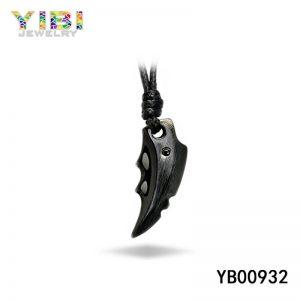 316L stainless steel black pendant