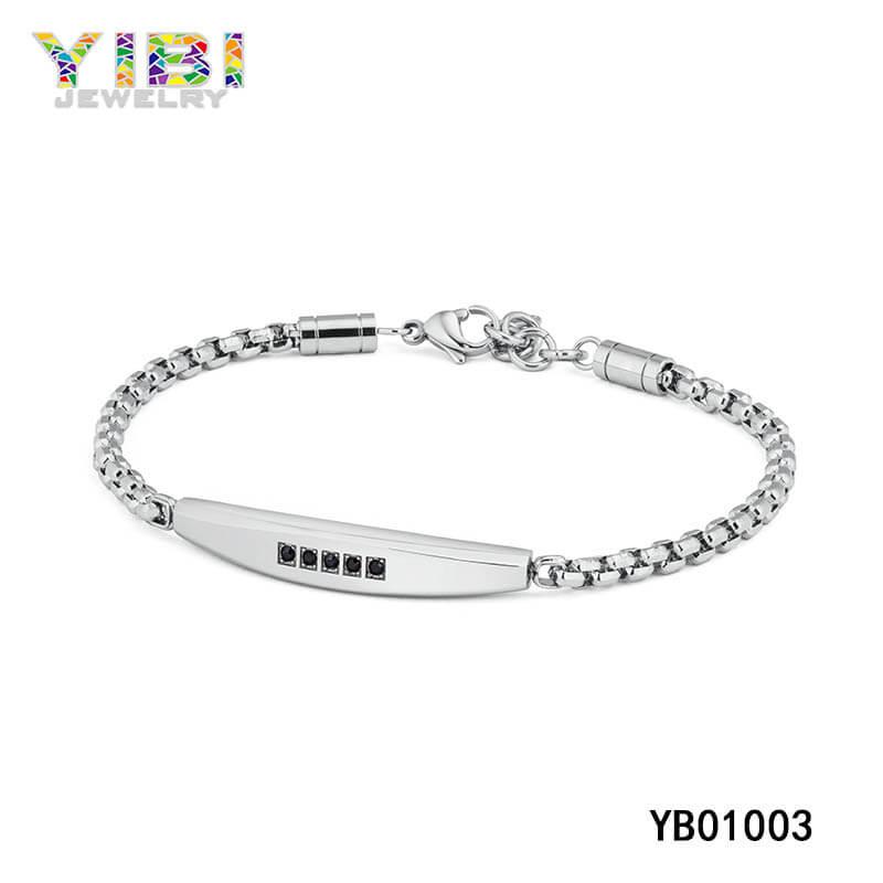 modern stainless steel bracelets