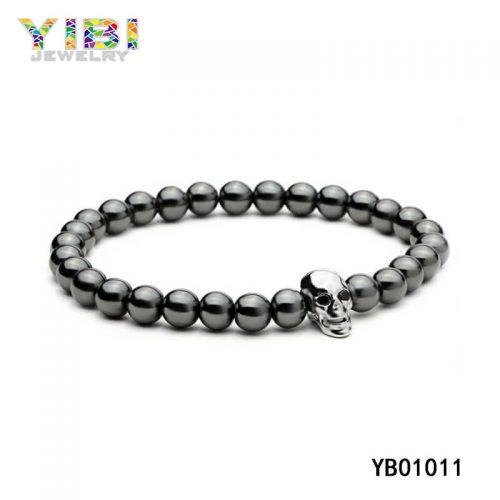 Stainless Steel Skull Bracelet Supplier