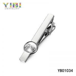 Modern Men Stainless Steel Tie Clip