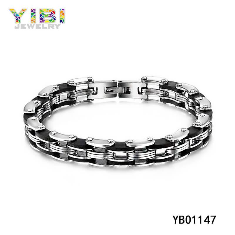 Quality Stainless Steel Bike Chain Bracelet
