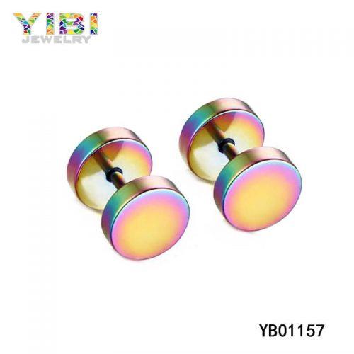 pretty 316l stainless steel women earrings
