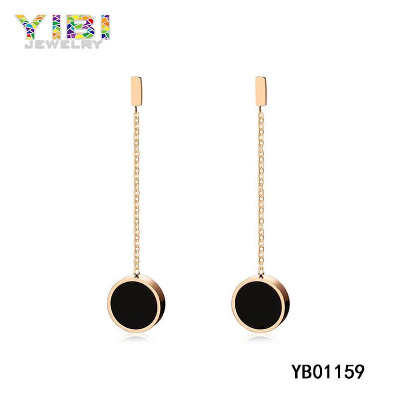 women stainless steel earrings