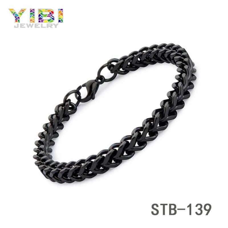 Classic Men Stainless steel Chain Bracelet