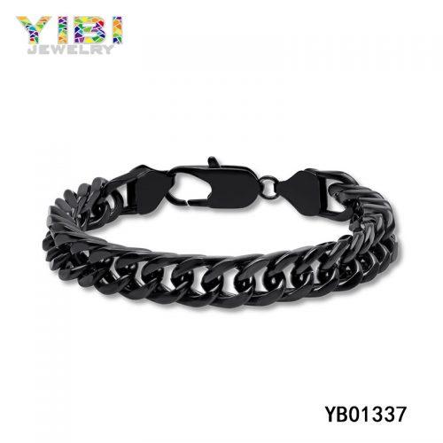 Unique Stainless Steel Cowboy Chain Bracelet