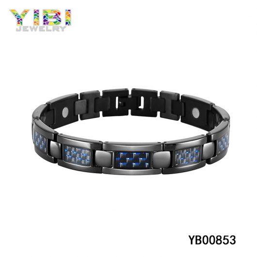 Black Titanium Germanium Bracelet Big Picture Show