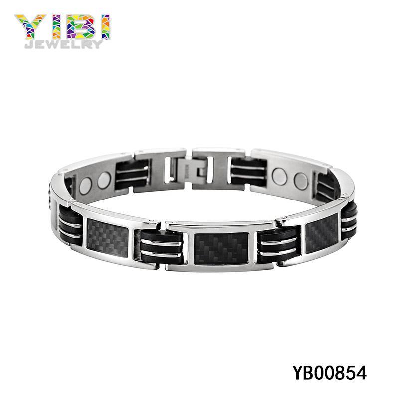 Carbon Fiber Titanium Bracelet