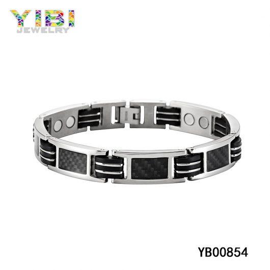 Carbon Fiber Titanium Bracelet Big Picture Show