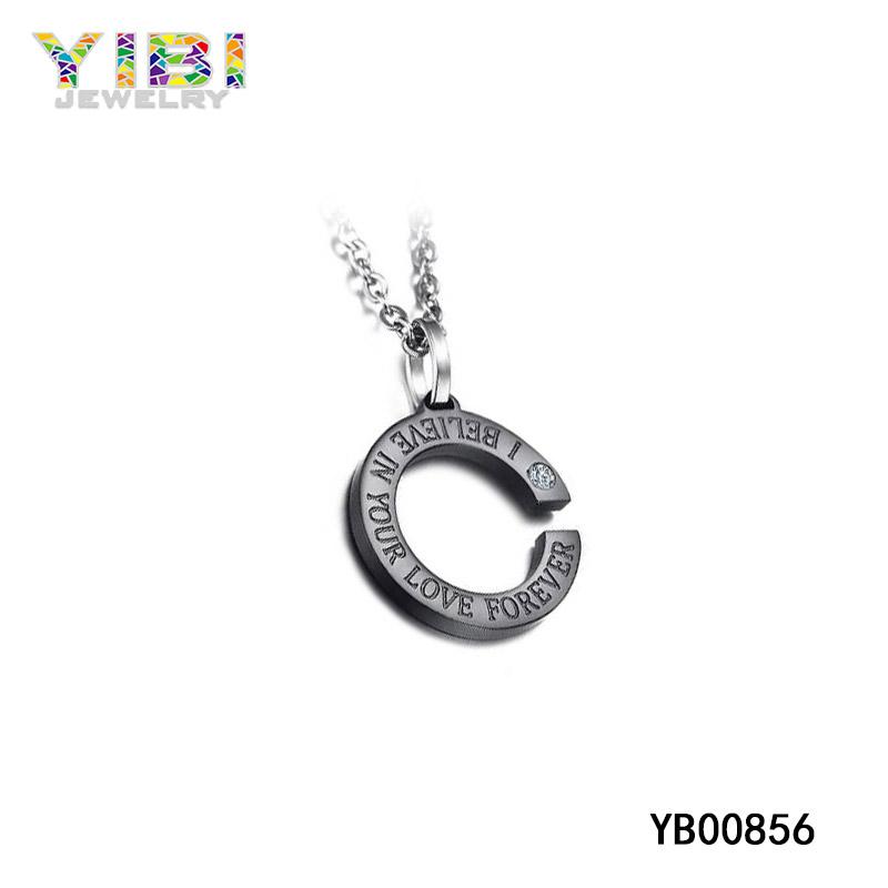 Black Titanium Pendant