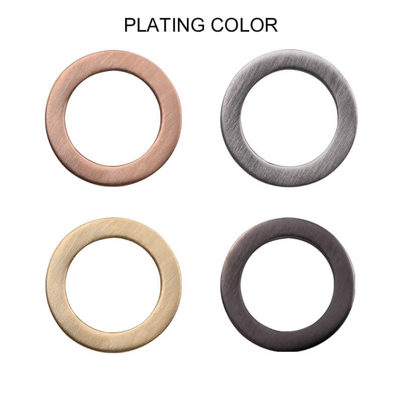 Titanium Cross Ring Plating Color