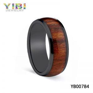 Titanium Wood Rings Manufacturer
