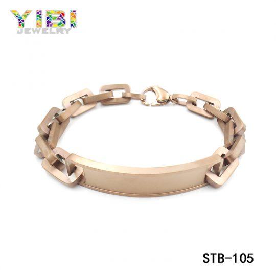 Stainless Steel Cuban Bracelet Supplier