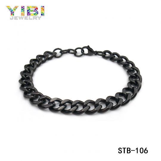 Stainless Steel Black Link Factory